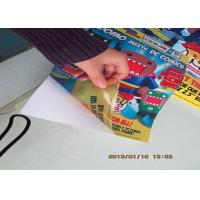 China Clear / White Custom Waterproof Stickers , Vinyl Window Stickers For Wall wholesale