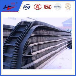 Quality corrugated sidewall Industrial conveyor belt, food grade belt conveyor for sale