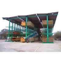 China 4650 Kg Per Arm Cantilever Steel Storage Racks Rows With Stacker Cranes wholesale