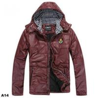 China D&g design men winter jacket hoody coat dolce&gabbana men's outerwears wholesale