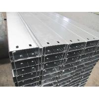 China C Z Section Galvanised Steel Purlins Roll-formed From Hi-Tensile Steel Strip on sale
