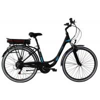 China 350W Battery Operated Push Bikes 700x38C Tires Adjustable Stem Max Loading 25kgs wholesale