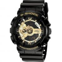 China Casio Men's Casio G-Shock Classic Black and Gold X-Large Watch GA-110 wholesale