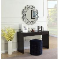 China Long Modern Wood Console Table Surface With Durable Pvc Lamination wholesale