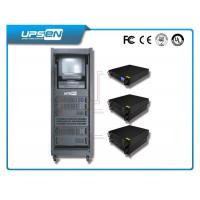 China Single Phase Rack Mounted Ups with  Pwm and IGBT Technology is black wholesale