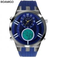 Buy cheap Wholesale Multifunction Waterproof 30M Dual Display Chronograph Alarm Men Sport Watches F534 from wholesalers
