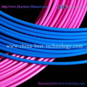 China 3D Printer Filament PLA 1.75mm Blue Pink wholesale