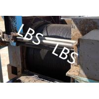 China Oil / Petroleum Machinery Anchor Handling Towing Winch With Lebus Drum wholesale