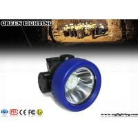 China 2600mA Cordless Mining Hard Hat LED Lights , 3.7V Waterproof Cree LED Cap Lamp wholesale