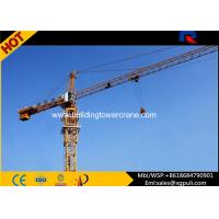 China 400m Rope Overhead Construction Building Tower Crane 1.0 Ton Tip Load wholesale