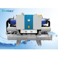 China Hanbell Screw Compressor Water Cooled Water Chiller For Indoor Installation wholesale