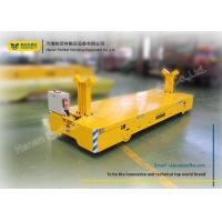 China Machinery Heavy Duty Die Carts / Powered Trolley Cart Works Handling Trailer wholesale
