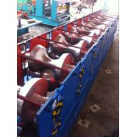 China V Roof Tile Roll Forming Machine Hydraulic Blade Cuting System Delta PLC Control wholesale