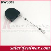 China Retail Stores Black Retractable Security Tether For Free / Interactive Communications wholesale