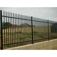 Quality Australia Security Commerical Garrison Fence Panel galvanised steel palisade for sale
