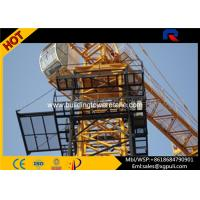 China Hammerhead Internal Climbing Tower Crane 3 ton Adjustable Load Capacity wholesale