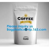 Buy cheap High Barrier 16 oz Foil Stand up Zipper Pouch Coffee Bag with Valve,Resealable from wholesalers