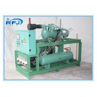 China Air Cooled single screw type compressor refrigerating condensing unit Rack High Temperature on sale