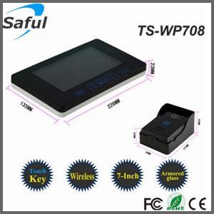 China 7 inch wireless door bell lcd video door phone intercom wholesale