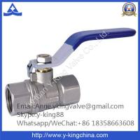 China 600 WOG Brass Ball Valve Thread Ends(YD-1018) wholesale