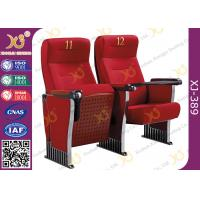 China Anti Stained PU Molded Foam Auditorium Furniture Foldable Audience Seating Chairs wholesale