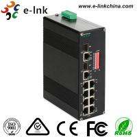 China Unmanaged Industrial Grade Ethernet POE Switch DIN Rail Mount / Wall Mount wholesale