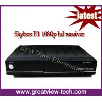 Quality 2012 factory wholesale HD DVB-S2 skybox F3 for worldwide market for sale