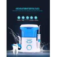 China CE RoHS Approved Cordless Water Jet Flosser , 360 Degree Water Pressure Teeth Cleaner on sale