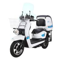 China Functional Electric Mopeds And Scooters With Big Warm Keeping Rear Box wholesale