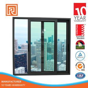 China Alibaba China Supplier AS2047 Standard aluminium arch slilding window grill design wholesale