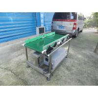 China High Speed Conveyor Weight Checking Machine For Vegetables 2 Years Warranty on sale