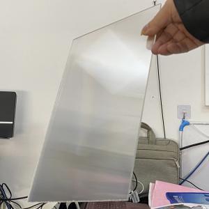 China PS rigid lenticular plastic 20 LPI flip lenticular effect thickness 3 mm designed for flip effect on digital printer wholesale