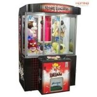 Quality 2014 new arcade redemption coin operated toy stacker amusement claw crane machine for sale