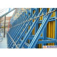 China Painted Finishing Single Sided Wall Formwork  For Retaining Concrete Construction wholesale