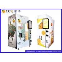 China Remote Control Orange Juice Vending Machine Business For 330-450 Ml Cup Size on sale