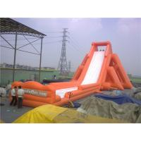 China Professional 56m Hippo Inflatable Water Slide For Adults Water Resistant wholesale