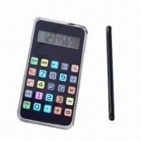 China Handheld Pocket Touch Calculator, Made of PS, OEM Orders are Welcome wholesale