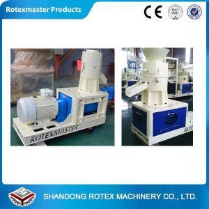 China Flat die type Wood Pellet Machine with high performance wood pellet press machine wholesale