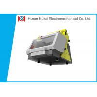 China Automobile Manual Key Cutter Machine Duplicating With Touch Screen on sale