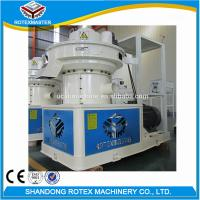 China CE Ring Die Pellet Machine / Pine Rubber Wood Pelet Mill Production Line wholesale