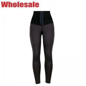 China Hook Girdle Waist Trainer Leggings High Waisted Leggings With Tummy Control wholesale