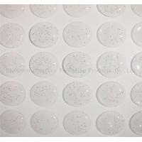 "China 1/2"" Inch Glitter 3D Epoxy domed stickers wholesale"