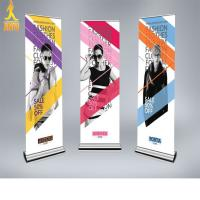 China factory price stand banner vinyl banner wholesler on sale