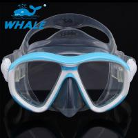 Buy cheap Anti - Fogging Silicone Diving Mask Tempered Glass Clear View Scuba Diving Mask from wholesalers