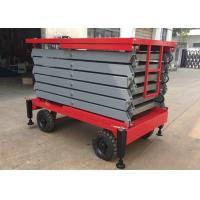 Buy cheap 500kg Aerial Work Platform 2.2kw , Height 11 Meters Heavy Duty Lift Table from wholesalers