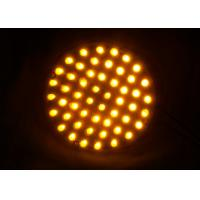 China Dia.100mm Traffic Arrow Boards PC Material UV Proof Wired Powered Warning Lights wholesale