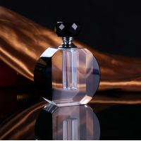 China 10Ml Art Deco Style Perfume Bottles Crystal Glass Perfume Bottles wholesale