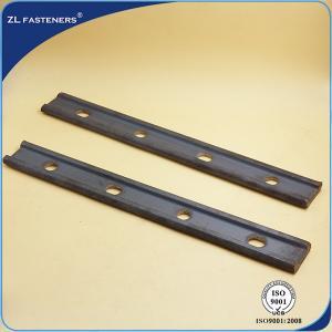 China Railway Rail Joint Bar / Fishplates In Railway Tracks Railway Fastens Parts on sale