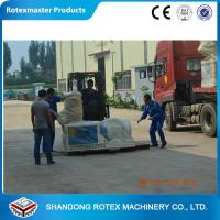 China ROTEX Brand Flat Die Biomass Sawdust Straw Rice Husk Wood Pellets Mill wholesale
