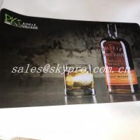 China Promotional custom soft neoprene material rubber bar mat rubber beer mat wholesale